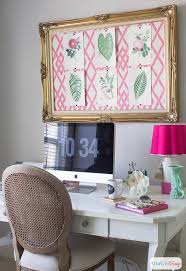 girly home decor pink green girly organized ultimate home office craft room