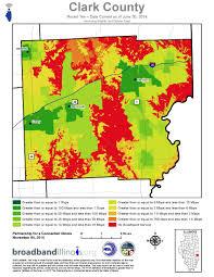 Illinois Counties Map clark county maps u2014 broadband illinois