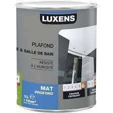 peinture blanche cuisine peinture blanche plafond plafond cuisine et bains luxens mat 1 l