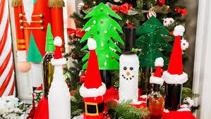 Christmas Wine Diy Christmas Wine Bottles For Christmas In July On Hallmark U0027s