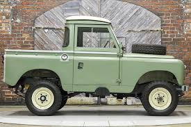 green land rover 1966 land rover series iia 88 inch pickup