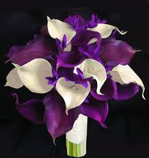 cala lillies floramatique touch purple calla lilies bouquet