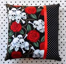 14x14 cherries and polka dots decorative throw pillow rockabilly