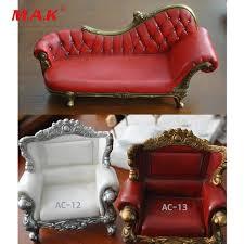 canap r tro 1 6 échelle fauteuil poupées figure accessoires rétro