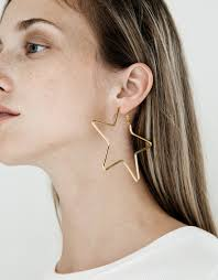 large earrings large earrings in gold earrings and gold style