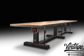 Metal Conference Table Conference Tables U2013 Vintage Industrial Furniture