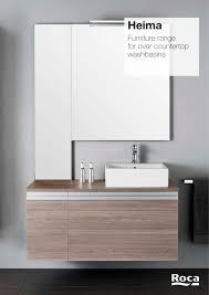 Roca Bathroom Furniture Heima Collection Brochure Roca Roca Pdf Catalogues
