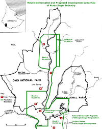 Map Of Ethiopia Cool Ground Plantations