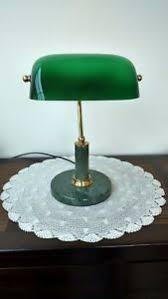 le de bureau opaline verte lampe bureau notaire banquier opaline verte pied marbre