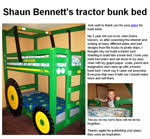 John Deere Tractor Bunk Bed 14 Free Bunk Bed Plans How To Build A Bunkbed