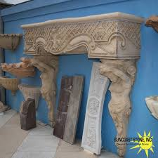 fp7 figurehead fireplace french influence suncoast stone