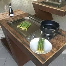 plancha gaz encastrable cuisine plancha planet encastrable 100 inox idéal pour cuisine d extérieure