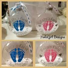 christmas ornaments baby baby s christmas ornament glass ornament baby s christmas