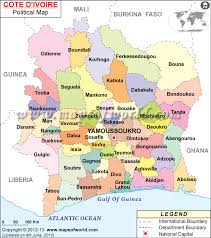 map of abidjan where is abidjan located location of abidjan on ivory coast map