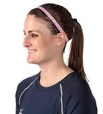 non slip headbands mizuno s slim triumph non slip headbands in 4 coordinated color