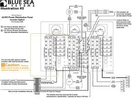 wiring inverter load group sub panels blue sea systems