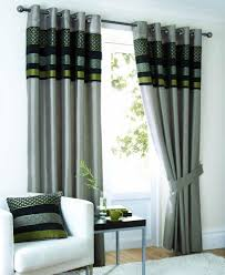 Black Eyelet Curtains 66 X 90 Newton Ready Made Curtains Black