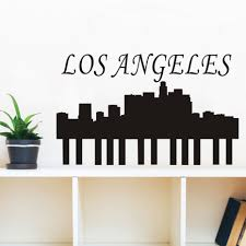 Los Angeles Home Decor Online Get Cheap Los Angeles Sticker Aliexpress Com Alibaba Group