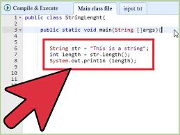 how to get the length of a string in java 2 steps with pictures