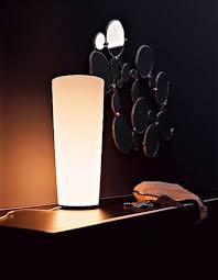 contemporary cocoon table and floor lamp design for home living