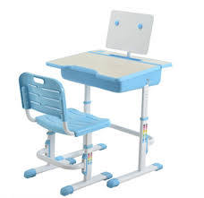 Student Desk Dimensions Student Study Desk Blue With Basket U0026 Chair