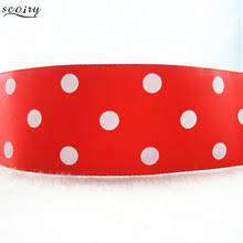 polka dot ribbon buy polka dot satin ribbon and get free shipping on aliexpress