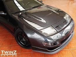nissan 300zx rocket bunny twinz design z32 nose panel type 1 2 u0026 3 z1 motorsports