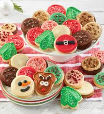 holiday cookie gifts holiday cookie delivery cheryls com