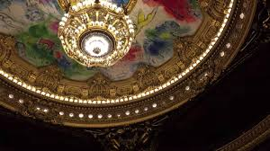 paris opera house chandelier le plafond de l u0027opéra garnier youtube