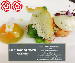 chef de partie en cuisine demi chef de partie bath somerset upto 17k plus tips and live in