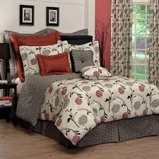 Zen Bedding Sets Cortina Asian Inspired Floral Comforter Set Csq1650 Dvhomedecor