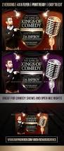 comedy show flyer template by geniuscreatives graphicriver