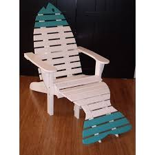 Adirondack Chair With Ottoman Poly Dolphin Adirondack Chair With Ottoman