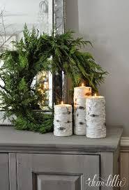 favorite rustic winter decor birch winter and house