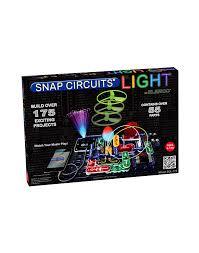 snap circuits lights electronics discovery kit snap circuits light electronic experiments kit scl 175 light up