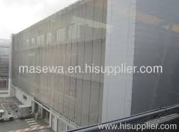 Metal Curtain Wall Architectural Metal Mesh For Curtain Wall From China Manufacturer