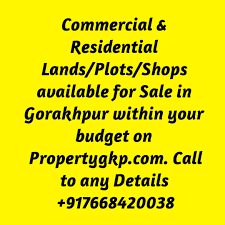 commercial plots in gorakhpur commercial land for sale in