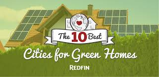 the 10 best cities for green homes via redfin