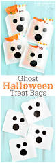 Halloween Treat Bag Craft Diy Ghost Treat Holders For Halloween Crafts Unleashed