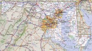 Annapolis Zip Code Map by Maryland Driving Map Maps Of Usa