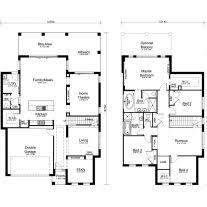 modern two story house plans home architecture storey house plans modern two story house plans