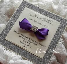Purple And Silver Wedding Invitations How To Make Sparkly Wedding Invitation U2013 Weddceremony Com