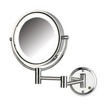 Bed Bath And Beyond Bathroom Mirrors by Buy Chrome Wall Mounted Bathroom Mirror From Bed Bath U0026 Beyond
