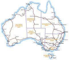 map of austrailia australia road maps national highways