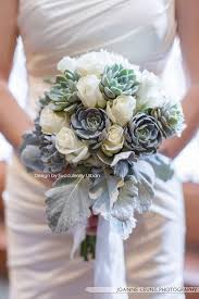 succulent bouquet succulent bouquet white dress succulents