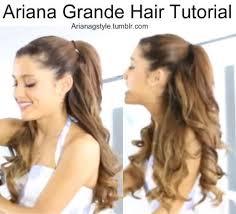 long hair style showing ears best 25 ariana grande hair tutorial ideas on pinterest easy