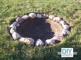 Backyard Firepit Ideas Best 25 Homemade Fire Pits Ideas On Pinterest Easy Fire Pit