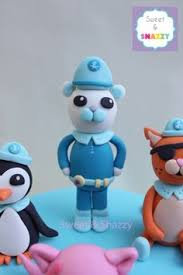 octonauts cake toppers octonauts cake toppers fondant figurines by sweet snazzy https