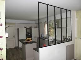 verriere entre cuisine et salon verriere de separation interieure collection et verriere entre