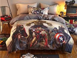 Marvel Double Duvet Cover 2016 Real Bed Sheet Bed Cover 2017 Time Limited 100 Cotton Marvel